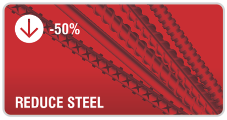 Reduce steels usage and costs